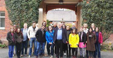 The scientific internship in the Aberystwyth University
