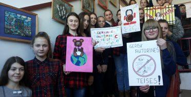 Užsiėmimai Telšių rajono Viešvienų  pagrindinėje mokykloje