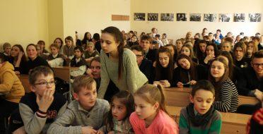 ASU Ekonomikos ir vadybos fakultete vyko renginys skirtas etninės kultūros ir kino temai