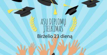 ASU diplomų įteikimo šventė!
