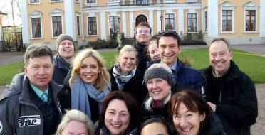 Partners meeting in Halmstad University, Sweden