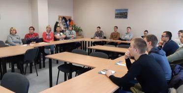 Kauno technikos profesinio mokymo centro vizitas